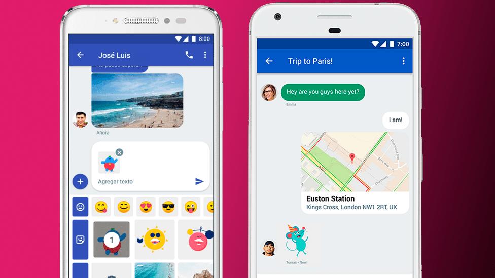 Chat, el servicio de mensajería de Google que reemplazará a los SMS