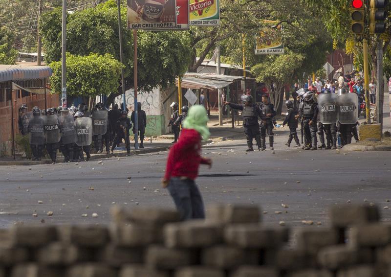 Ola de protestas en Nicargua.