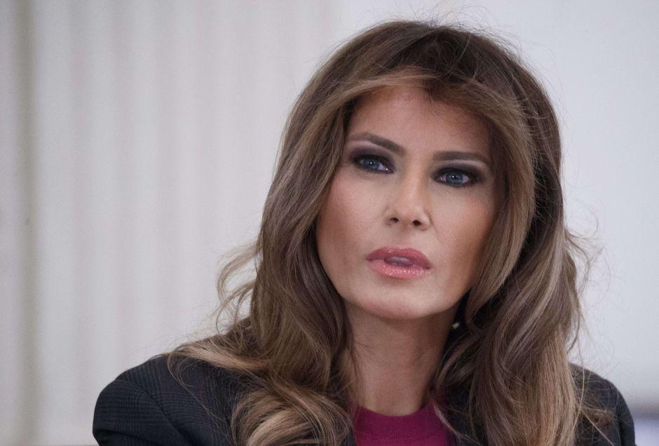 Melania Trump reacciona a supuesto video de Trump y modelos rusas orinando