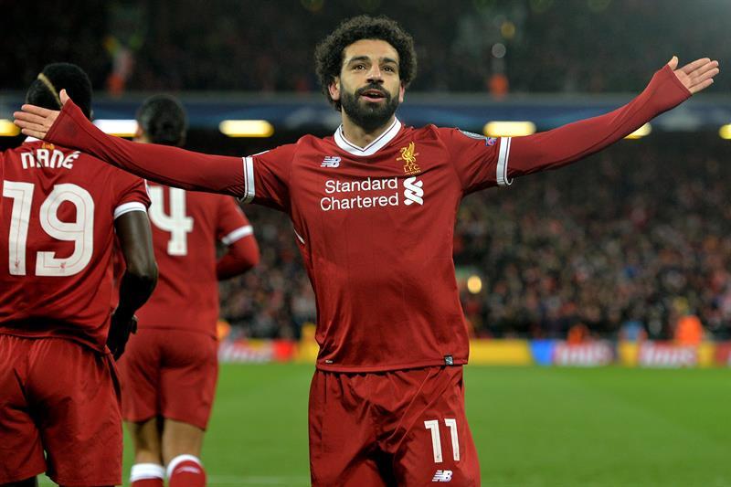 El egipcio Mohamed Salah. (Foto: EFE)