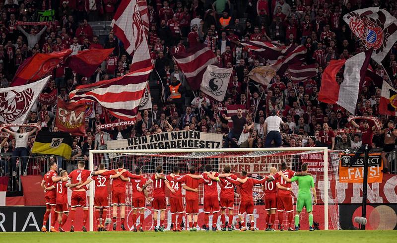 Bayern Munich completa la cuarteta de semifinalistas en Champions