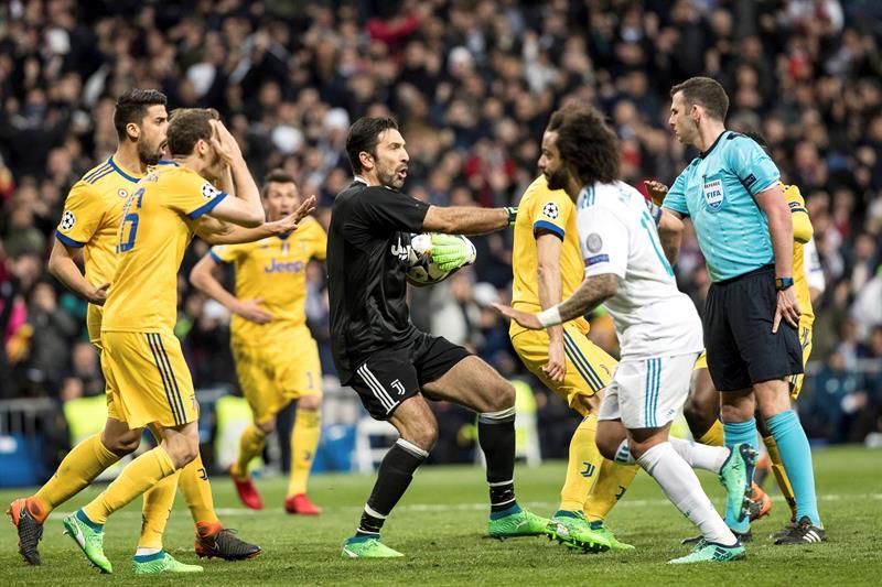 Amenazan a la esposa del árbitro que dirigió el Real Madrid-Juventus