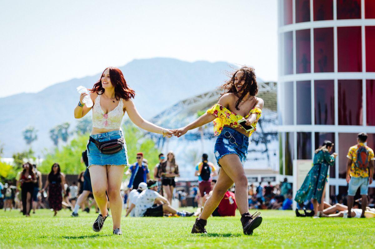 Festival de Coachella: pasarela de moda en pleno desierto californiano