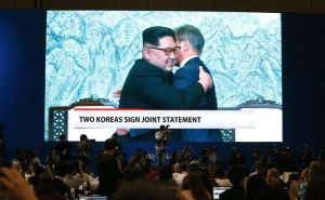 Líderes de Corea del Norte y Corea del Sur se comprometen a firmar la paz