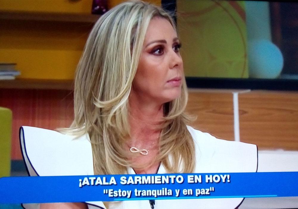 """Atala Sarmiento soltó toda la verdad en """"Hoy"""" ante el desaire de Galilea y Andrea"""