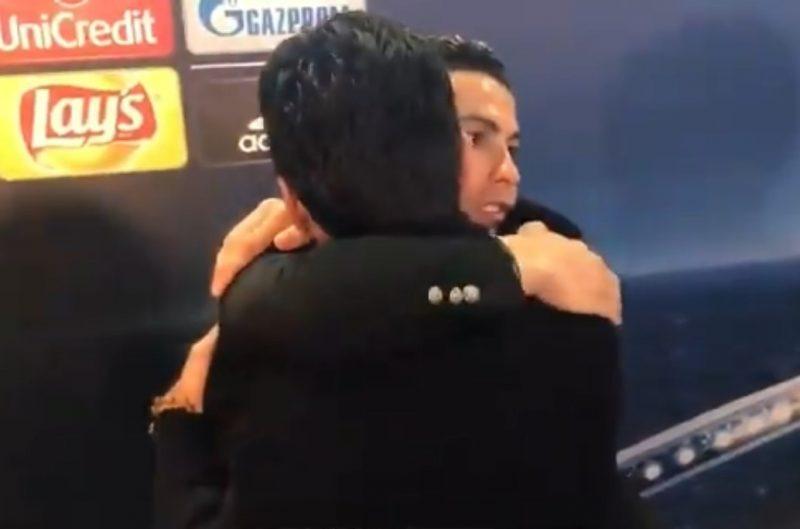 Caballeros en la victoria y la derrota: El beso y abrazo de Buffon y Cristiano