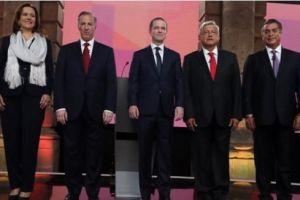 """""""Me están echando montón"""", dice AMLO; recibe 49% de ataques en el debate"""