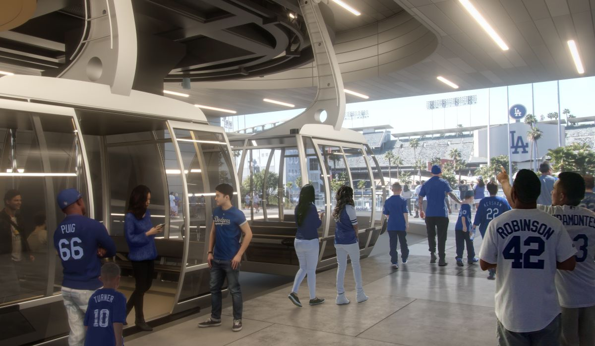 Proponen teleférico desde Union Station al Estadio de los Dodgers