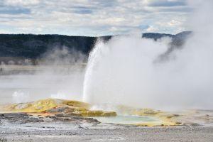 Géiser de Yellowstone entra en erupción por tercera vez en seis semanas