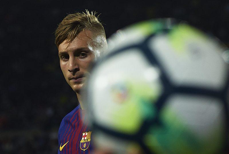 Gerard Deulofeu cuando era jugador del Barcelona.  (Foto: Manuel Queimadelos Alonso/Getty Images)