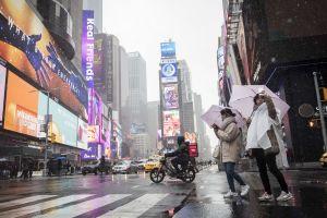 Alertan por tormenta de primavera en Nueva York