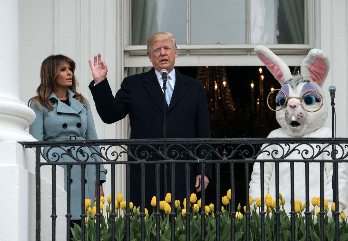 Las burlas contra Trump por no ser capaz de describir la Casa Blanca (Video)