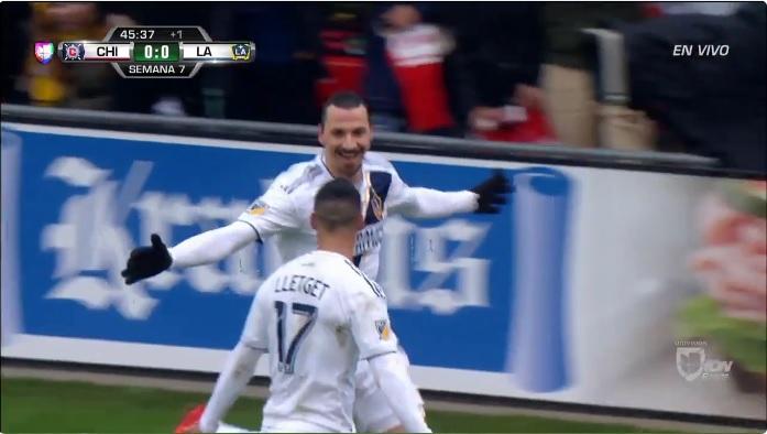 Ibrahimovic ya es máximo goleador de LA Galaxy ¡Con 109 minutos!