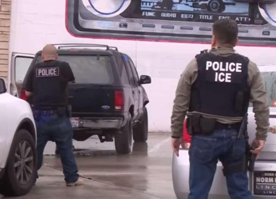 """ICE captura a quien considera sospechoso de ser """"criminal"""" o indocumentado."""
