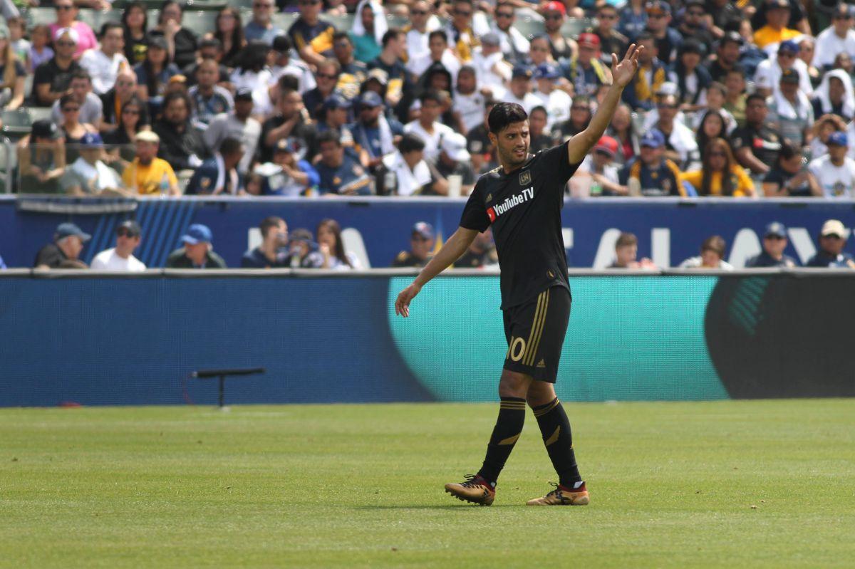 Carlos Vela anota un golazo y guía al triunfo a LAFC sobre Whitecaps
