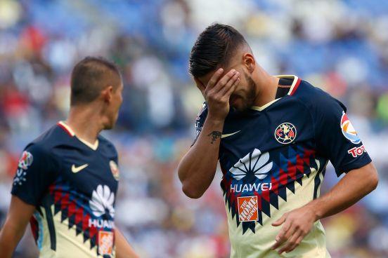 Bruno Valdez se lamenta tras la derrota del América ante Puebla