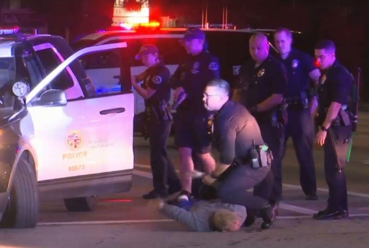 Aumenta el número de tiroteos del LAPD, pero hay menos muertes