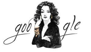 """Google rinde homenaje a """"La Doña"""" María Félix"""