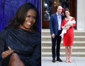 La broma de Michelle Obama sobre el nuevo bebé de la realeza inglesa