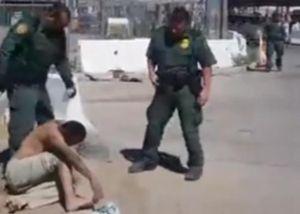 """Vídeo muestra como Patrulla Fronteriza intenta expulsar a hombre por """"parecer mexicano"""""""