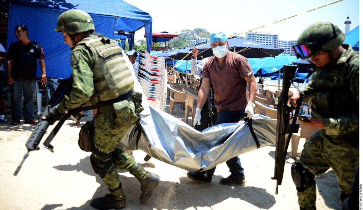 Violencia en playas de Acapulco deja un muerto