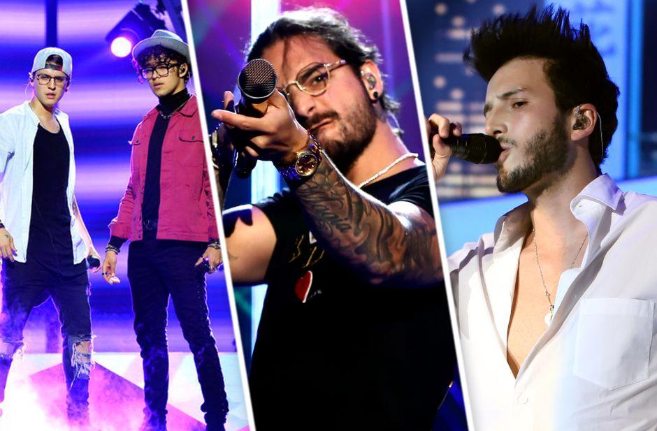 Fotos de Premios Billboard 2018: CNCO, Maluma y Sebastián Yatra ensayan en Las Vegas
