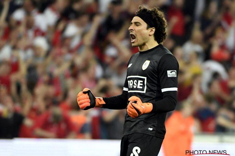 El Standard de Memo Ochoa rescató el empate ante Brujas en la Jupiler League.