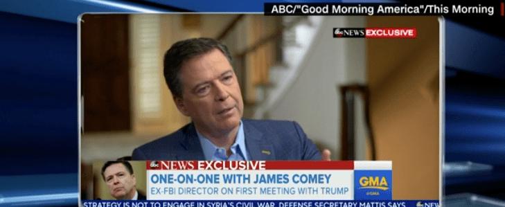 """Explosivo James Comey: """"Trump no está moralmente capacitado para ser presidente de EEUU"""""""
