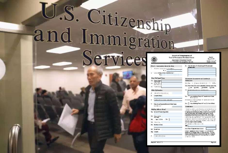 """El documento de USCIS que ningún portador de """"green card"""" debe firmar sin saberlo"""
