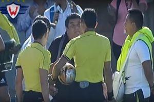 Equipo boliviano era goleado, argumentó cinco lesionados y pidió la suspensión del partido