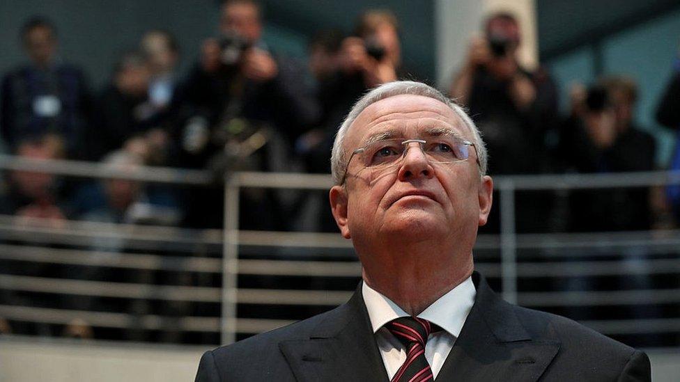 El expresidente ejecutivo de la VW, Martin Winterkorn.