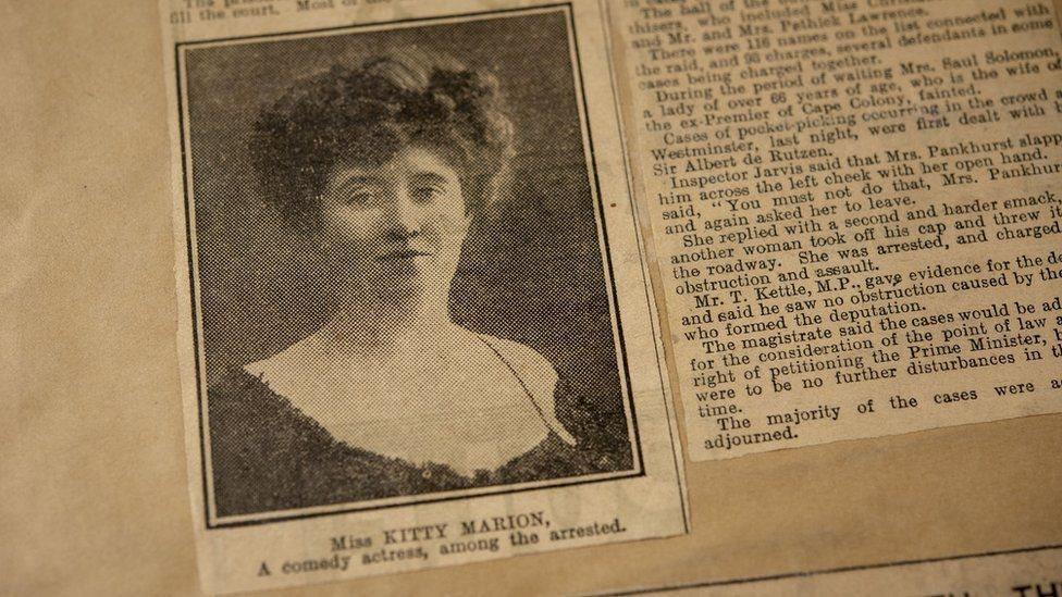 """Kitty Marion, la actriz que se convirtió en """"terrorista"""" por el derecho al voto de las mujeres"""