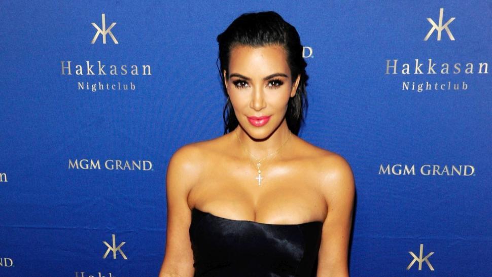 La foto ardiente de Kim Kardashian vestida de angelito que calienta Instagram