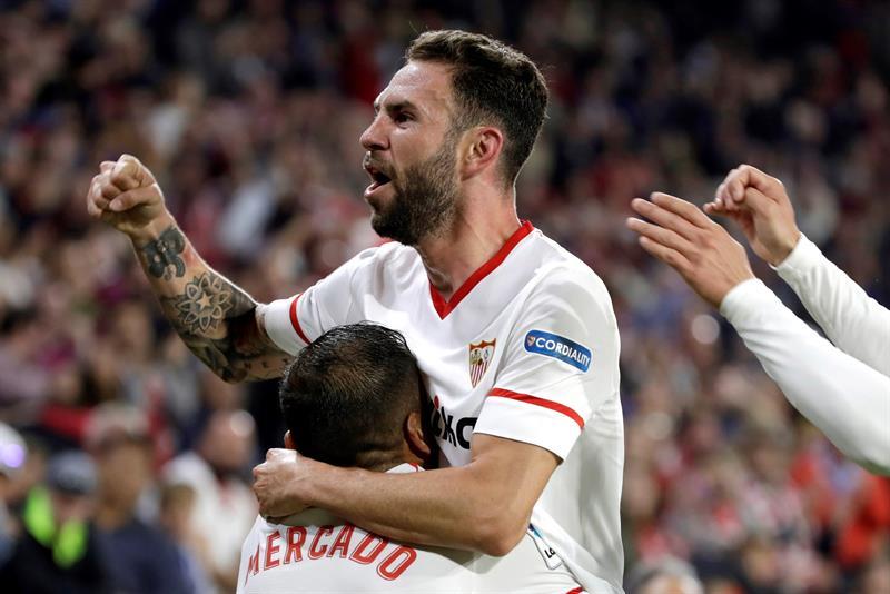 Sevilla le pegó al Real Madrid y el mexicano Miguel Layún anotó un gol