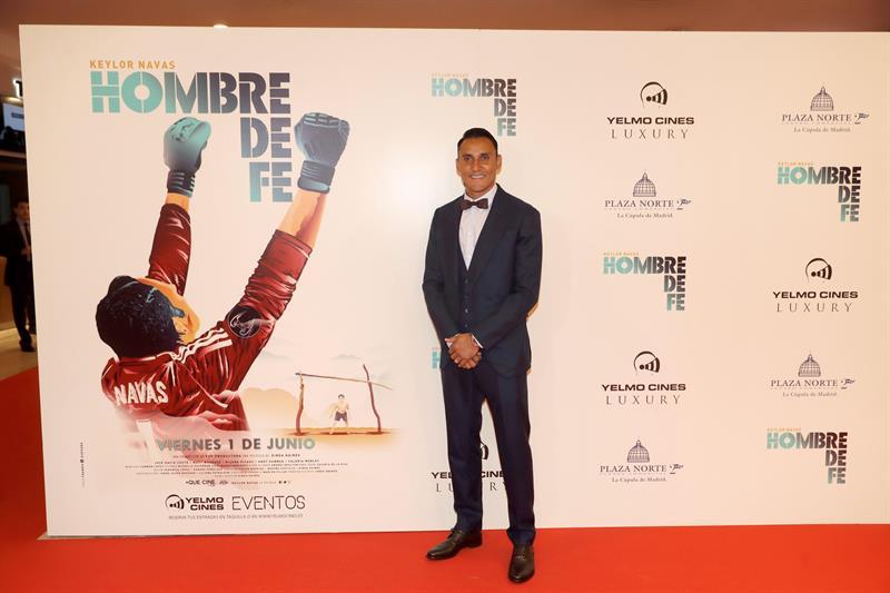 """VIDEO: Keylor Navas, portero del Real Madrid, estrena su película """"Hombre de Fe"""""""