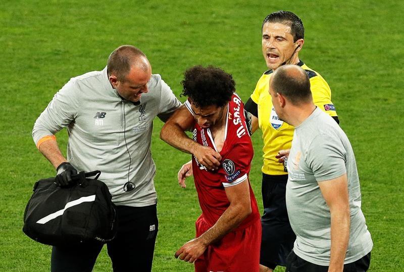 """Salah no está enojado con Ramos: """"Fue una acción fortuita"""""""