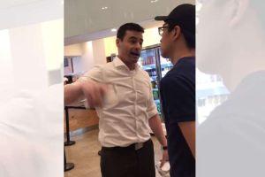 Comisión de Derechos Humanos visitó restaurante donde abogado racista amenazó a trabajadores