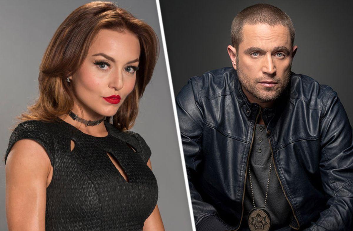 Angelique Boyer y Michel Brown, protagonistas de telenovela 'Contracara' de Televisa y Univision