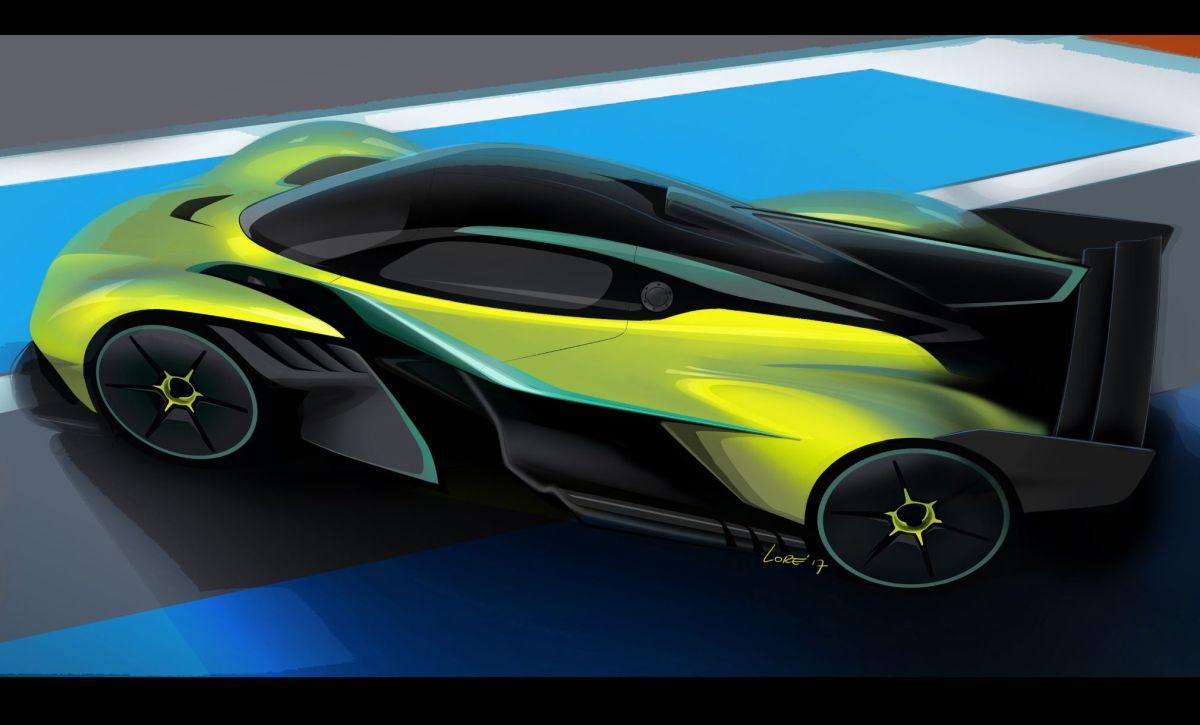 Fotos: El auto del futuro que Aston Martin ha diseñado