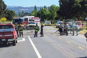 Avioneta estrellada cerca del aeropuerto de Petaluma deja dos muertos