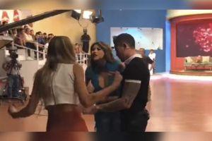 Video: Captan a 'La Bebeshita' y Alexia de 'Enamorándonos' discutiendo fuertemente