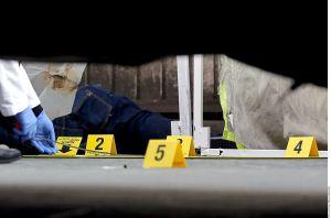 Fotos: Matan a mujer policía cuando salía de trabajar, el Marro se adjudica asesinato