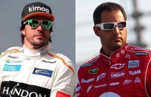 Juan Pablo Montoya y Fernando Alonso, dos latinos por la Triple Corona
