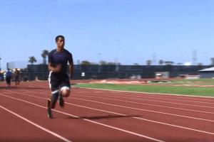 Henry Waterman, de Santa Ana, entrena para los Juegos Paralímpicos 2020