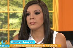 Vídeo: Aquí todas las impactantes predicciones que lanzó Deseret Tavares en Venga la Alegría
