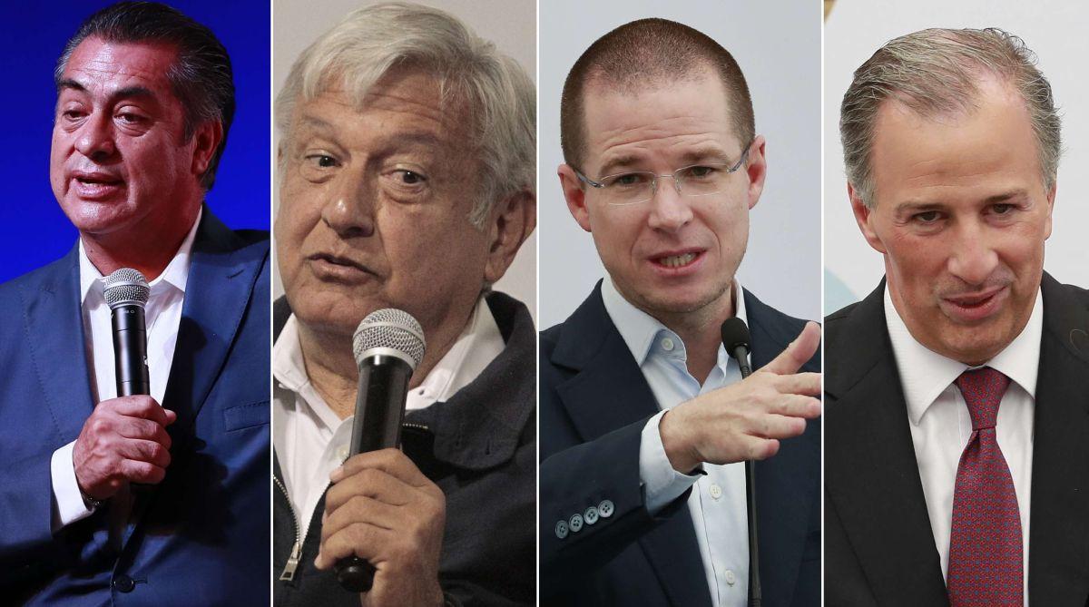 Insistentes menciones a Trump en el debate de candidatos a la presidencia de México
