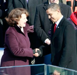 Obama respalda a Feinstein en elección para servir a California en el Senado federal