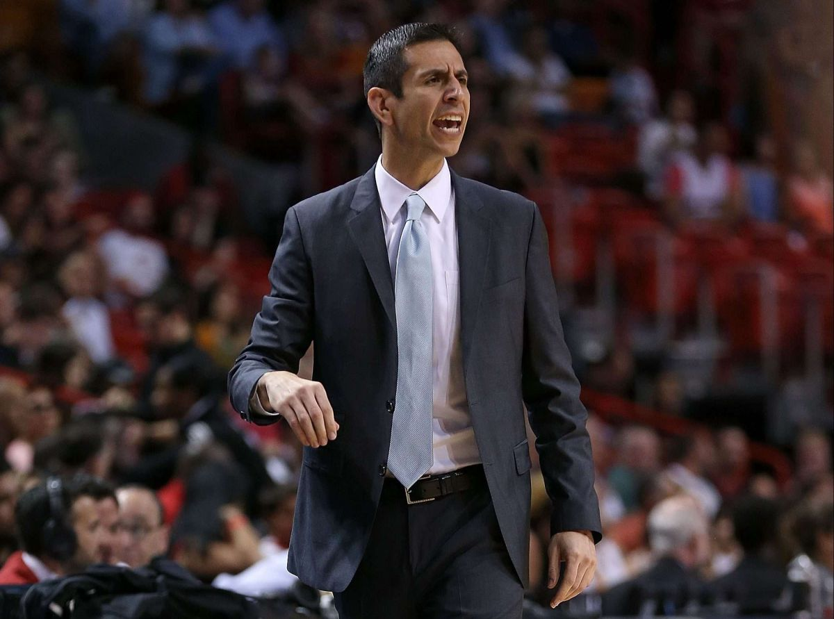 James Borrego, futuro entrenador de los Hornets. Mike Ehrmann/Getty Images