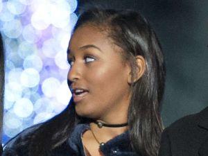 Sasha Obama disfruta de lo lindo con Cardi B