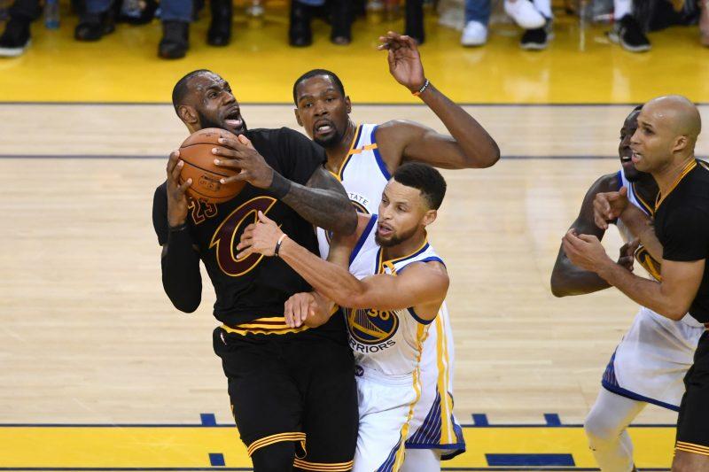 Cuarta final consecutiva entre Golden State y Cleveland en la NBA